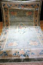 Schöner (GEWASCHEN) China Seidenteppich 182x125 cm Orient Rug 3849 Keschan Nain