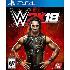 WWE 2K18 (PLAYSTATION 4) PS4 - BRAND NEW/SEALED - RELEASE DAY DELIVERY!