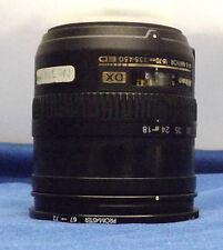 Nikon 18-70mm 1:3.5-4.5G ED  AF-S DX Nikkor  Lens