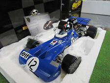 F1 TYRRELL FORD 003 F.CEVERT #12 1er GP GRANDE BRETAGNE 1971 au 1/18 EXOTO 97023