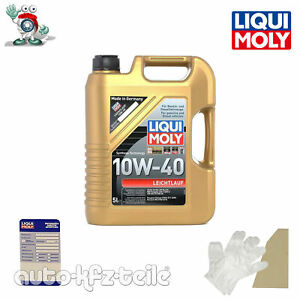 Liqui Moly 1310  LM 1310 Motoröl, Öl, Leichtlauf 10w40 5L Kanister