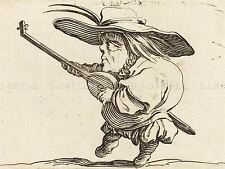 JACQUES CALLOT FRENCH LUTE PLAYER OLD ART PAINTING POSTER PRINT BB5751A