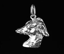 "Pendentif PETIT LEVRIER ITALIEN  ""P L I"" - Pendant ITALIAN GREYHOUND DOG"
