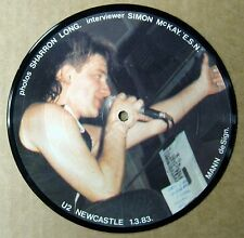 "U2 - Newcastle Interview - 7"" Picture Disc - UK - 1983 - New - Last Copy!"