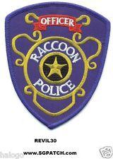 RESIDENT EVIL RACCOON POLICE OFFICER PATCH - REVIL30