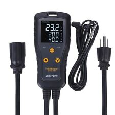DIGITEN Digital Thermostat Temperature Controller Heating Cooling Control 15A