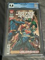 Justice League #43 CGC 9.8-NM-1st print-Robert Venditti-DC Comics-2020