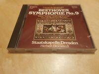 JAPAN 10 060- Beethoven- Symphony No. 9 Staatskapelle Dresden Blomstedt CD Live