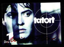 Ulrike Folkerts Tatort Autogrammkarte Original Signiert # BC 96621