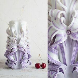 Candle Tea Light Eve Unity Wedding Decor Purple Table Set Wick Votive EveCandles