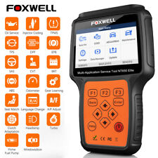Foxwell NT650Elite ABS Airbag TPMS SAS DPF EPB Auto Diagnostic Tool OBD2 Scanner