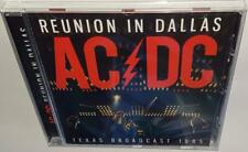 AC/DC REUNION IN DALLAS (TEXAS BROADCAST 1985) BRAND NEW SEALED CD ACDC