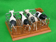 BRITAINS FARM ANIMALS,  CATTLE PENS, MILKING STALLS, FARM SET #3