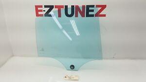 2001-2007 MERCEDES BENZ C32 RIGHT PASSENGER SIDE REAR DOOR WINDOW GLASS OEM