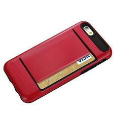 Silicone/Gel/Rubber Card Pocket Mobile Phone Cases & Covers for iPhone 5s