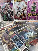 X-Force Comic Lot 1-12 First Print Marvel Percy 1 2 3 4 5 6 7 8 9 10 11 12 NM