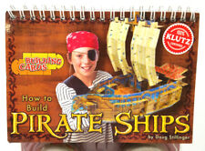 Book Klutz How to Build Pirate Ships Doug Stillinger 200+ Building Cards New