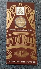 2008 One Dollar Centenary of Rugby League Dollar Uncirculated Coin