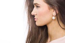 Earrings Women Ear Stud Fashion Spring Earring Pyramide & Pearl Stud Style Gift