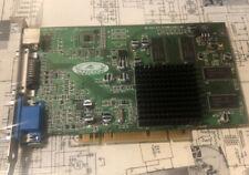 ATI Radeon Graphics Card P/N:109-85500-01, SUN 102855220 DDR PCI VGA