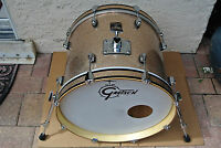 """GRETSCH 18"""" CATALINA CLUB COPPER CHAMPAGNE SPARKLE BASS DRUM for SET LOT #V100"""