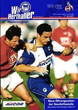 DFB-Pokal 2001/02 Hertha BSC - 1. FC Köln, 30.01.2002