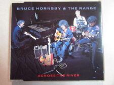 BRUCE HORNSBY & THE RANGE ACROSS THE RIVER 3 TRK UK CD SINGLE EDIT & LIVE SONGS