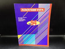 1994 vintage TOOTSIETOY retailer toy catalog diecast CARS & TRUCKS western guns
