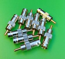 (10 Pcs) Bnc Female to Rca Male Connector - Usa Seller