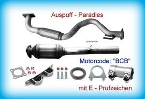 Katalysator & Krümmerrohr für VW Golf IV 1.6 16V Typ 1J1 / 5 Motor BCB 77KW +Kit