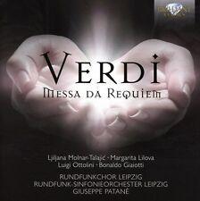 RSOL/RUNDFUNKCHOR LEIPZIG - MESSA DI REQUIEM 2 CD NEU GIUSEPPE VERDI