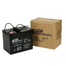 PAIR OF 12V EXPEDITION PLUS 85AH AGM MOBILITY SCOOTER BATTERIES