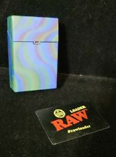 Lot of 2 Cigarette Carton Case Plastic 1 RAW Scraper Loader preowned cone filler