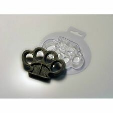 """""""Brass knuckles"""" plastic soap mold soap making mold mould"""