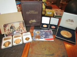 ABRAHAM LINCOLN COIN & CHRONICLE SET AND MORE