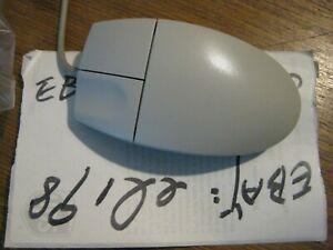 """*new"""" Logitech M-S34 PS/2 2-button BEIGE mouse *MORE*"""