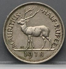 Mauritius - half rupee 1978 - 1/2 rupee 1978 -  KM# 37.1