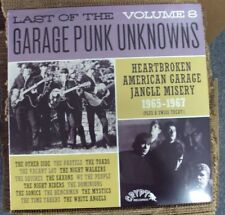 LAST OF THE GARAGE PUNK UNKNOWNS VOL. 8 comp. LP SEALED Crypt gatefold-cover