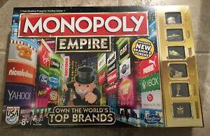 Brand New Hasbro Monopoly Empire Family Night Board Game 🎁 Priority Shipping 🎁