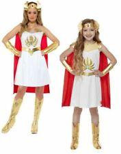 She-Ra Costume Ladies Superhero 1980s Fancy Dress Licensed Outfit Girl Shera