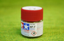 TAMIYA COLOR Plates Rouge Acrylique Mini Paint XF7 10mls