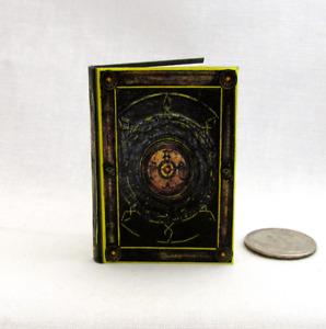 1:6 Scale BOOK OF CAGLIOSTRO Readable Illustrated Miniature Book Strange Marvel