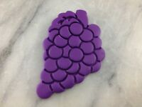 Grapes Cookie Cutter 2-Piece, Outline & Stamp #1 CHOOSE YOUR OWN SIZE!