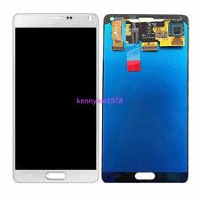 Für Samsung Galaxy Note 4 N910F LCD Display Touch screen Bildschirm Weiß+cover