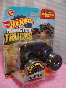 2020 MONSTER Trucks HWSF HOT WHEELS SPECIAL FORCES  Dairy Delivery☆STEALTH☆black