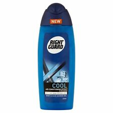 3 X Right Guard MEN Xtreme COOL Body & Hair Shower Gel 250ml