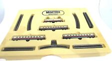 MINITRIX TRAINS N SCALE ( ELECTRIC LOCOMOTIVE TRAIN SET DB #1123090 )