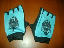 Bianchi Bike Gloves, Italian Bike Lover Cycling Gloves New Celeste Custom Xxl