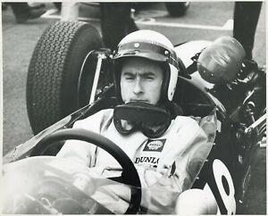 Jackie Stewart - original Dunlop period press photograph c.1965 2