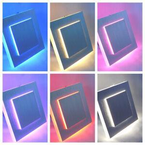 LED-RGB Farbwechsel 3W Treppenbeleuchtung Wandleuchte Passend in UP Schalterdose